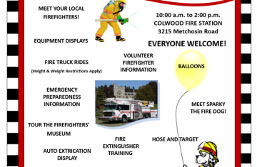 Colwood Volunteer Firefighters Open House