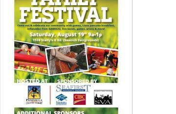 7th Annual Central Saanich Family Festival
