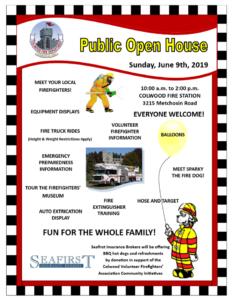 Colwood Volunteer Firefighters Open House