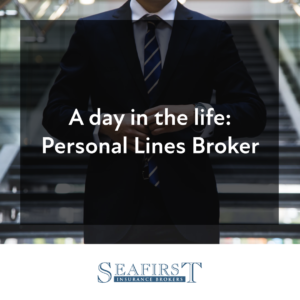 A day in the life : insurance broker